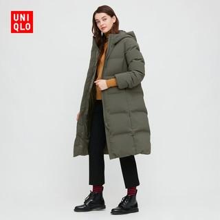 UNIQLO 优衣库  429468 女款无缝羽绒长大衣