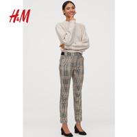 H&M 0752814 女装九分裤西装裤