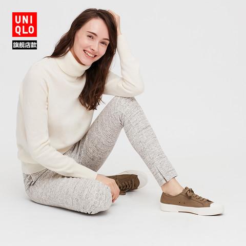 UNIQLO 优衣库 428864 女款两翻领羊绒衫
