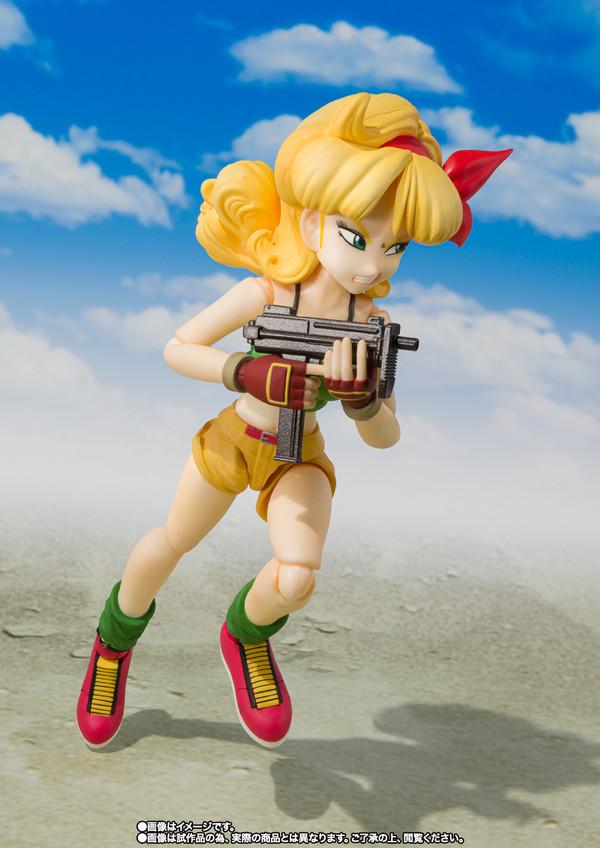 玩模总动员、新品预定:BANDAI 万代 魂限定 SHF系列《七龙珠》兰琪 可动人偶
