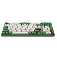 Akko 艾酷 3098DS 98键 有线机械键盘 红豆抹茶 AKKO橙轴 无光