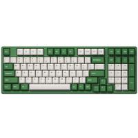 Akko 艾酷 3098 DS 98键 有线机械键盘 红豆抹茶 AKKO粉轴 无光