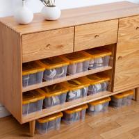 IRIS 爱丽思 透明鞋盒 3个装 204*352*123mm