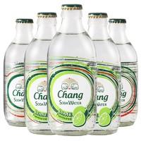 泰国进口CHANG大象牌苏打水无糖0脂0卡运动健身气泡水12瓶青柠味