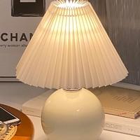 LUUGAA 鹿家良品 北欧陶瓷复古台灯  按键开关款  高30cm