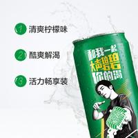 Sprite 雪碧 柠檬味汽水 330ml*4罐
