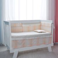 良良嬰兒床純棉床單床上用品防滑落枕巾兒童床床罩兩件套床笠