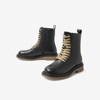 BASTO 百思图 RGLCD571DU1DZ0 女士马丁靴