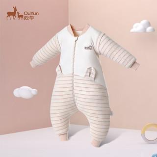 OUYUN 欧孕 婴儿睡袋宝宝分腿睡袋中厚90cm *2件