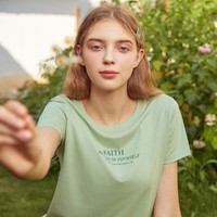 Semir 森马 12C020000024 女款短袖T恤