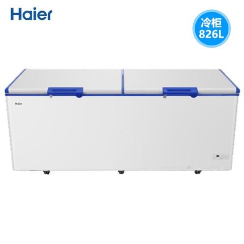 海尔(Haier)商用冰柜 冷冻柜 海鲜柜 深冷速冻 智能控温商用卧式大冷冻柜冰柜 BC/BD-826SEA  826升