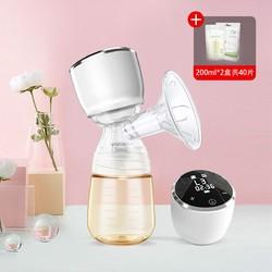 优合吸奶器电动正品静音一体式全自动吸奶器无痛手动集挤乳器
