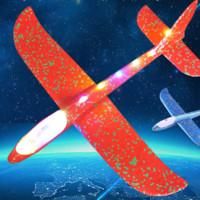 佩峰 大號投擲滑翔機 隨機顏色