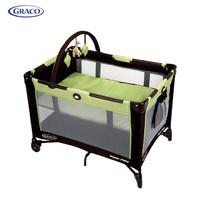 葛莱GRACO 多功能婴儿床 可移动室内室外睡玩一休双层床 美国原版