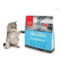 临期品:orijen 渴望 六种鱼 全猫粮 1.8kg