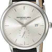 Raymond Weil 男式 5484-STC-65001 模拟显示石英黑色手表