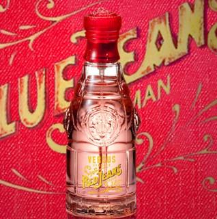 VERSACE 范思哲 牛仔系列 红色牛仔女士淡香水 EDT 75ml