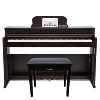 The ONE 壹枱 TOP2 立式钢琴 88.5cm 古典棕 专业演奏级