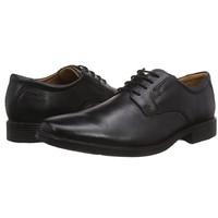 Clarks 其乐 Tilden Plain系列 男士商务正装鞋 261103508 黑色 39.5