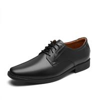 Clarks 其乐 Tilden Plain系列 男士商务正装鞋 261103508 黑色 42