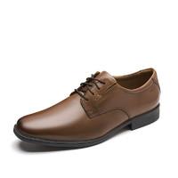 Clarks 其乐 Tilden Plain系列 男士商务正装鞋 261300978 深棕褐色 46