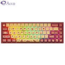 AKKO 3068 牛年限定款 蓝牙5.0双模 机械键盘 TTC轴