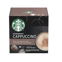 STARBUCKS 星巴克 多趣酷思 卡布奇诺 中度烘焙 胶囊咖啡 120g