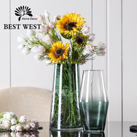 BEST WEST YYC-2107 輕奢玻璃花瓶