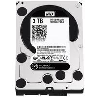 Western Digital 西部数据 黑盘系列 3.5英寸台式机硬盘 3TB 64MB(7200rpm、PMR)WD3003FZEX