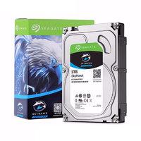 SEAGATE 希捷 酷鹰SkyHawk系列 3.5英寸监控级硬盘 3TB 256MB(5400rpm、SMR)ST3000VX009