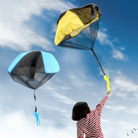 优迭尔 手抛降落伞 45*70cm 2个装颜色随机