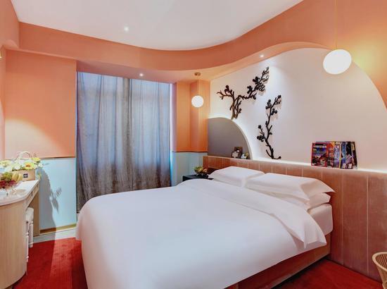 周末、清明不加价!西安大美克拉罗斯/爱诺酒店 大床/双床房2晚(延迟退房+可拆分)