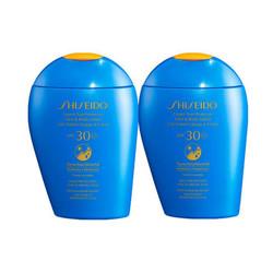 Shiseido 资生堂 新艳阳夏臻效水动力防护乳 SPF50+ 150ml *2