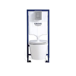 GROHE 高仪 壁挂式马桶套装 39321000马桶+38528001水箱