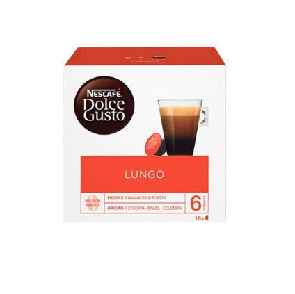 Nestlé 雀巢 Dolce Gusto多趣酷思 美式浓黑 中度烘焙 胶囊咖啡 16颗 112g