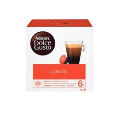 英国进口 美式浓黑 雀巢多趣酷思(Dolce Gusto) 黑咖啡胶囊 研磨咖啡粉 16颗装