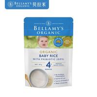 BELLAMY'S 贝拉米 婴幼儿辅食 宝宝有机米粉 125g +凑单品