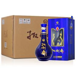 扳倒井 42度蓝A6礼盒装 500ml*6瓶 白酒整箱 口感浓香型 送礼品袋 *2件