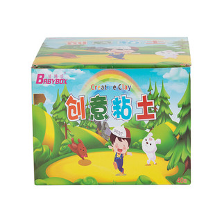 BABY BOX 贝博氏 SN505A 创意粘土 36+4色