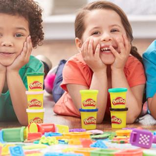 Play-Doh 培乐多 基础系列 A7923 彩虹罐装彩泥 8色