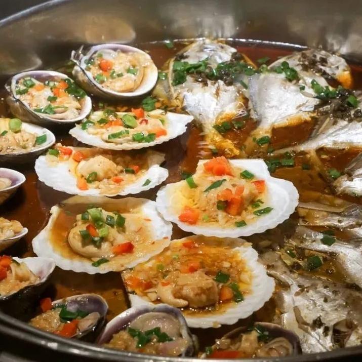 海鲜刺身烧烤蒸台无限量!国家会展中心上海洲际酒店自助晚餐