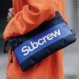 Subcrew SC037 撞色休闲单肩包