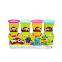 Play-Doh 培乐多 B6510 罐装彩泥 新版鲜艳款 4色