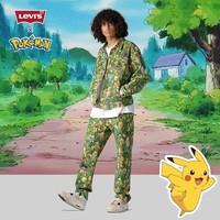 Levi's® x Pokémon 联名系列 男士551Z宽松直筒牛仔裤
