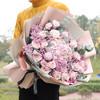 初卉 鲜花速递红玫瑰花送女友鲜花礼盒预定同城配送生日礼物女生老婆全国花店送花北京上海成都 V款-韩式女神款- 一生一世 鲜花