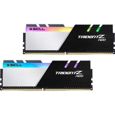 芝奇(G.SKILL)16GB(8G×2)套装 DDR4 3800频率 台式机内存条--焰光戟RGB灯条(C18)