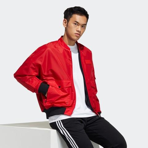 adidas 阿迪达斯 三叶草 2021Q1 男款运动夹克外套