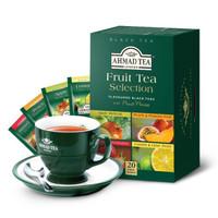 京东PLUS会员:ahmad tea 果味红茶 四口味组合装 2g*20包 *3件