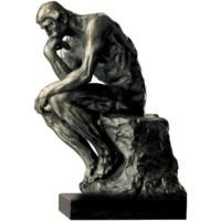 阿斯蒙迪青銅雕塑 藝術擺件 限量收藏 羅丹 思想者