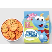 小鹿蓝蓝 宝宝牛奶蔬菜饼干 80g*2盒